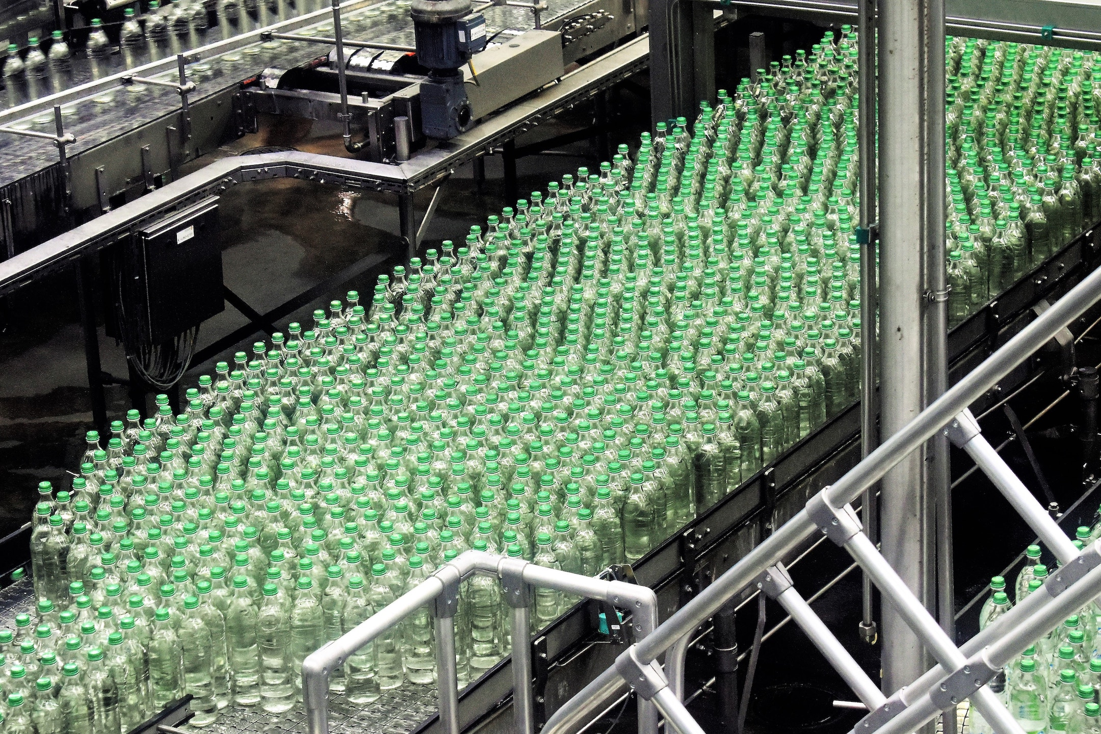 A beverage production factory