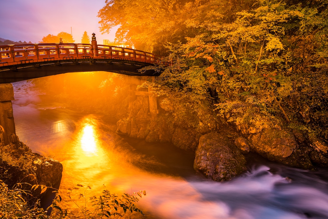 Shinkyo Bridge at Nikko